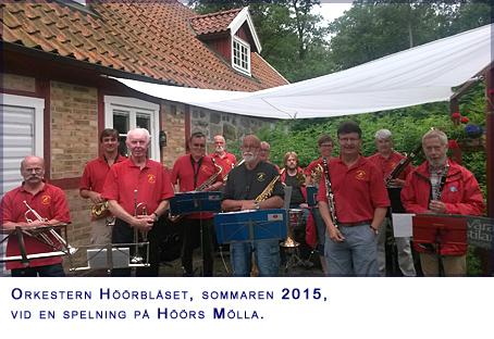 Blåsorkester från Höör:  Höörblåset